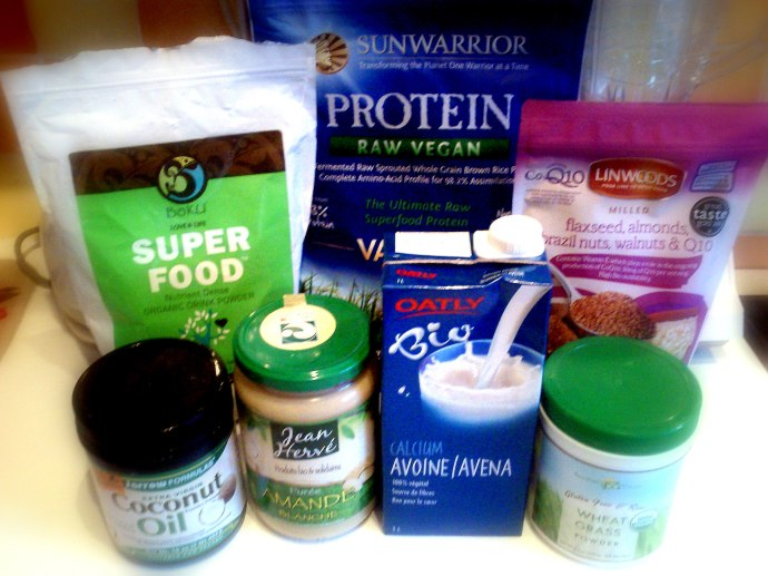 Organic Superfood Protein Shake